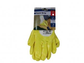 Handschuh Paint Grip  gelb Gr.9