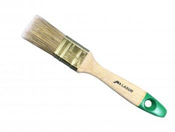 Lasurpinsel 30mm 9.Stärke Holzstiel