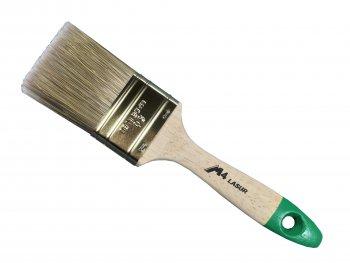 Lasurpinsel 50mm 9.Stärke Holzstiel
