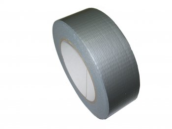 Gewebe Reparaturband silber 36mm breit 50m lang Hot Melt Kleber