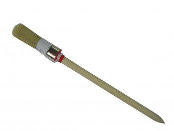 Ringpinsel helle Naturborste Gr.2 doppelter Kordelvorband