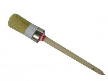 Ringpinsel helle Naturborste Gr.8 doppelter Kordelvorband