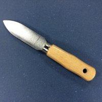 Kittmesser steifes Blatt mit Loch Holzgriff