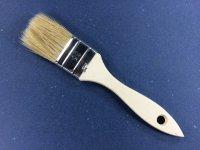 Einfacher Flachpinsel 35 mm breit helle Borstenmischung