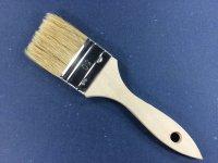 Einfacher Flachpinsel 50 mm breit helle Borstenmischung