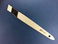 Schrägstrichzieher Konex Kunstfaser Weißblechzwinge 25mm