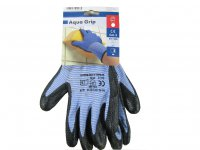 Handschuh Aqua Grip blau Gr.10