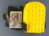 Knieschoner gelb zertifiziert Paar