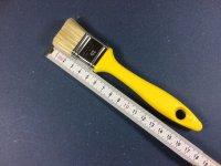 Kleberpinsel 30mm breit Kst. Griff