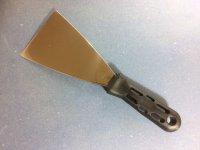 Malerspachtel rostfreie Klinge Gr. 80 mm KST. Griff
