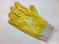 12 Paar Handschuh Nitril Amarillo Gr.9 vollbeschichtet