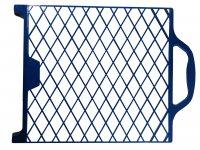 Abstreifgitter 27 x 29 cm Kunststoff bruchsicher blau