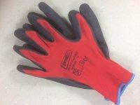 Handschuh Black Grip rot Gr.10  12 Paar